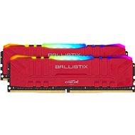 Crucial 64GB KIT DDR4 3200MHz CL16 Ballistix Red RGB