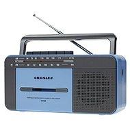 Crosley CT102A - Blue - Radio mit Kassettenrecorder