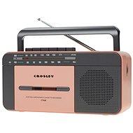 Crosley CT102A - Pink - Radio mit Kassettenrecorder