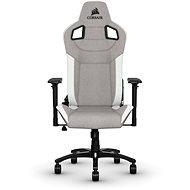 Corsair T3 RUSH, grauweiß - Gaming-Stuhl