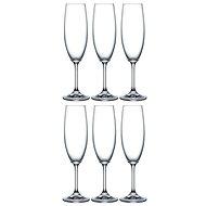Crystalex LARA Champagnerglas 220ml 6 Stück - Champagnergläser