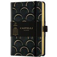Notebook CASTELLI MILANO Copper & Gold Deco, size S