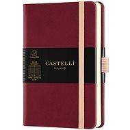 Notebook CASTELLI MILANO Aqua Cherry, size S