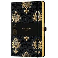 CASTELLI MILANO Copper&Gold Baroque, Size M Gold - Notebook