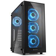 Sharkoon Sharkoon TG5 Glass Blau - PC-Gehäuse