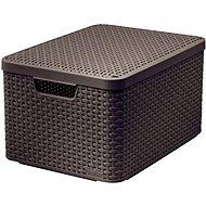 CURVER STYLE BOX mit Deckel L, 03619-210 – braun - Aufbewahrungsbox