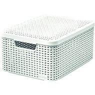 Curver RATTAN style2 Aufbewahrungsbox mit Deckel M - Aufbewahrungsbox