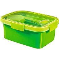 CURVER SMART GO 1,2 Liter inkl. Besteck, Dressing-Glas und Einsatz - grün