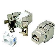 Datacom RJ45 STP CAT6 selbstschneidend SILBER - Grundpfeiler