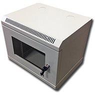 Datacom 10'' 6U / 280 mm (Glas) - grau - Verteiler
