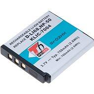 PENTAX T6 Power Pentax D-LI68, Kodak KLIC-7004, Fuji NP-50 - Ersatzbaterie