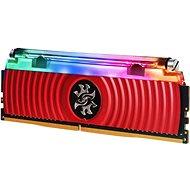 ADATA 8 GB DDR4 3600 MHz CL17 XPG SPECTRIX D80, rot - Arbeitsspeicher