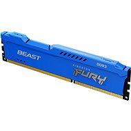 Kingston FURY 4GB DDR3 1600MHz CL10 Beast Blue - Arbeitsspeicher