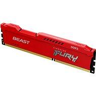 Kingston FURY 8GB DDR3 1600MHz CL10 Beast Red - Arbeitsspeicher