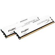 HyperX 8GB KIT DDR3 1600MHz CL10 Fury White Series - Arbeitsspeicher