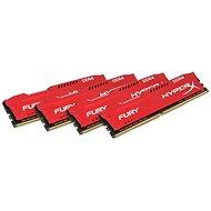 HyperX 64 GB KIT DDR4 2933 MHz CL17 Fury Red Series - Arbeitsspeicher