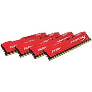 HyperX 64GB KIT DDR4 2133MHz CL14 Fury Red Series - Arbeitsspeicher