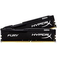 HyperX 16GB KIT DDR4 2400 MHz CL15 Fury Schwarz Serie - Arbeitsspeicher