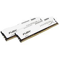 Kingston 32 Gigabyte KIT DDR4 2666MHz CL16 HyperX Fury White Series - Arbeitsspeicher
