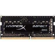 Kingston SO-DIMM 8 Gigabyte DDR4 2133MHz HyperX Impact CL13 Black Series - Arbeitsspeicher