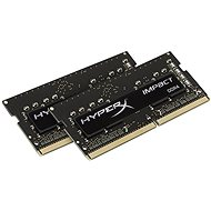 Kingston SO-DIMM 16 Gigabyte KIT DDR4 2400MHz HyperX Impact CL14 Black Series - Arbeitsspeicher