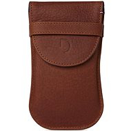 Decoded Leather Pouch For Apple Magic Mouse Brown - Schützhülle