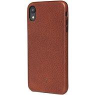Decodec Leather Case Brown iPhone XR - Silikon-Schutzhülle