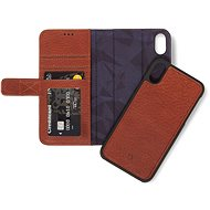 Decoded Leather 2in1 Wallet Brown iPhone XR - Handyhülle