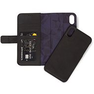 Decoded Leather 2in1 Wallet Black iPhone XS Maxx - Handyhülle