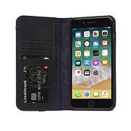 Decoded Leather Wallet Case Black iPhone 8 Plus/7 Plus/6s Plus - Handyhülle
