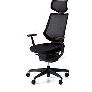 ING Glider 360 ° mit Kopfstütze - schwarz - Bürostuhl