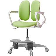 3DE Duorest Milky - Schreibtischstuhl für Kinder mit Fußstütze - grün - Kinderstuhl