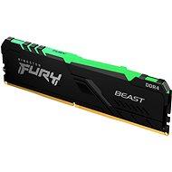Kingston FURY 16GB DDR4 2666MHz CL16 Beast RGB 1Gx8 - Arbeitsspeicher