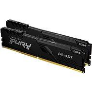 Arbeitsspeicher Kingston FURY 64 GB KIT DDR4 3200 MHz CL16 Beast Black