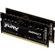 Kingston FURY SO-DIMM 32 GB KIT DDR4 2666 MHz CL15 Impact 1Gx8 - Arbeitsspeicher