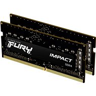 Kingston FURY SO-DIMM 32GB KIT DDR4 2933MHz CL17 Impact 1Gx8 - Arbeitsspeicher