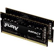 Kingston FURY SO-DIMM 32 GB KIT DDR4 3200 MHz CL20 Impact 1Gx8 - Arbeitsspeicher