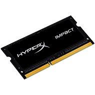 Kingston SO-DIMM 1600MHz HyperX 8 GB DDR3L Auswirkungen CL9 Dual Voltage - Arbeitsspeicher