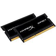Arbeitsspeicher Kingston SO-DIMM 8 Gigabyte KIT DDR3L 1600MHz HyperX CL9 Impact Doppelspannung für Apple / Mac - Arbeitsspeicher