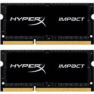 Kingston SO-DIMM 16GB KIT DDR3L 1866MHz HyperX Impact CL11 Black Series - Arbeitsspeicher