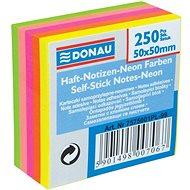 DONAU 50x50mm 5x 50 Blätter - Notizblock (selbstklebend)