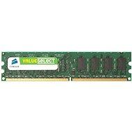 1 GB DDR2 667 MHz PC5400 CL5 CORSAIR BOX - Arbeitsspeicher