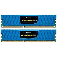 Systemspeicher Corsair 8GB KIT DDR3 1600MHz CL9 Blau Vengeance Low Profile - Arbeitsspeicher