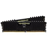 Corsair 16GB KIT DDR4 3000 MHz CL15 Vengeance LPX, schwarz - Arbeitsspeicher