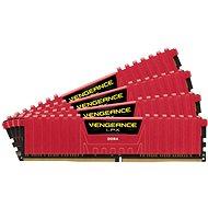 Corsair 32 Gigabyte KIT DDR4 2.400 Megahertz CL14 Vengeance LPX rot - Arbeitsspeicher