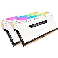 Corsair 16GB KIT DDR4 3600MHz CL18 Vengeance RGB PRO Weiß - Arbeitsspeicher
