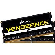 Corsair SO-DIMM 8GB KIT DDR4 2400MHz CL16 Vengeance schwarz - Arbeitsspeicher