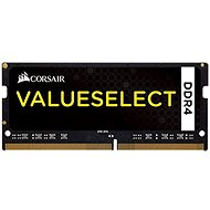Corsair SO-DIMM 4GB KIT DDR4 2133MHz CL15 ValueSelect černá - Arbeitsspeicher