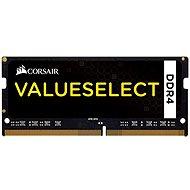 Corsair SO-DIMM KIT 8 Gigabyte 2133MHz DDR4 CL15 ValueSelect schwarz - Arbeitsspeicher