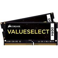 Corsair SO-DIMM 8GB KIT DDR4 2133MHz CL15 ValueSelect schwarz - Arbeitsspeicher